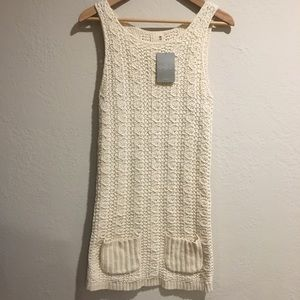 NWT Anthropologie Far Away From Close knit dress